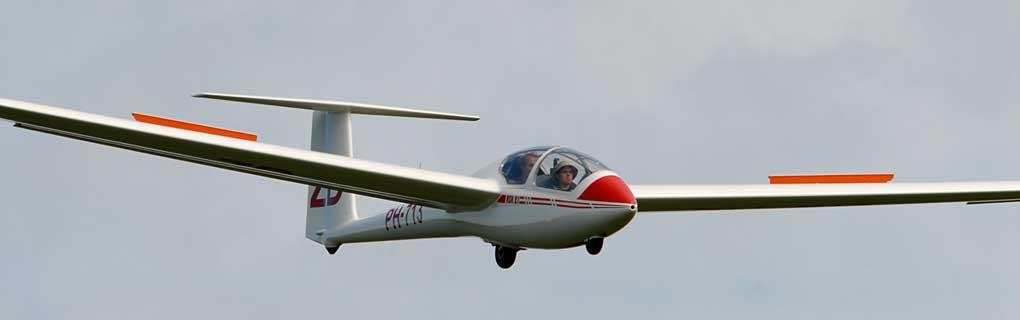 ASK-21 in de landing